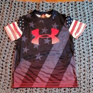 Under Armour Heat Gear Boys Shirt Size Youth Small
